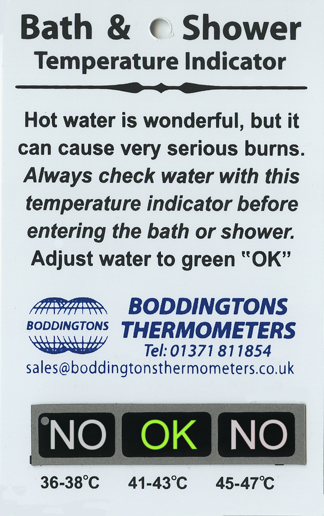 Picture of b09/ab2 bath and shower temperature checker
