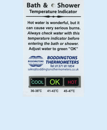 Fourth slide - B09/AB2 Bath and Shower Temperature Checker